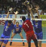 Cuba de cara a tres fuertes adversarios en Liga Mundial